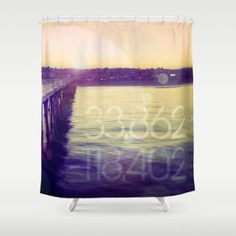 Hermosa Beach, California Shower Curtain