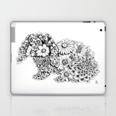 Floral Rabbit Laptop & iPad Skin