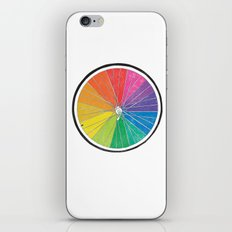 Color Wheel (Society6 Edition) iPhone & iPod Skin