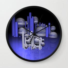 randomly distributed Wall Clock