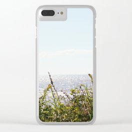 The Ocean Calls (Summer) Clear iPhone Case