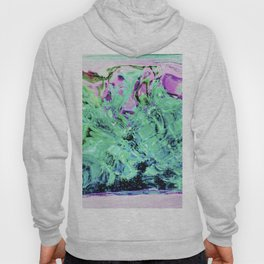 430 - Abstract glass design Hoody