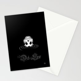 the DRIFTER skull Stationery Cards