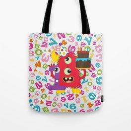 Birthday Monster 1st Birthday Tote Bag