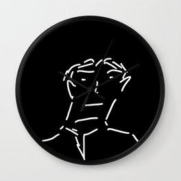 Dashing Man Wall Clock
