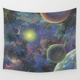 Galaxy. Order in chaos. Wall Tapestry