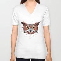 hunter V-neck T-shirts featuring Hunter by Jordan Smith