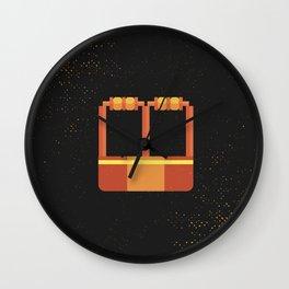 Minimal Retro Cricket Wickets Wall Clock