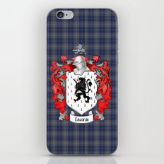 Edwards Crest and Tartan iPhone & iPod Skin