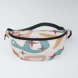 Retro Mid Century Modern Abstract Composition 934 Fanny Pack