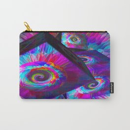 Trippy Daisies  Carry-All Pouch