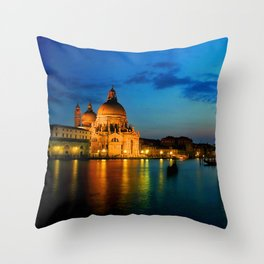 Italy. Venice celebration Throw Pillow