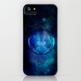 Planetary Soul Blue Souls iPhone Case