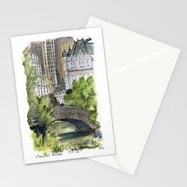 Central Park: Gapstow Bridge Stationery Cards