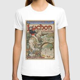 "Alphonse Mucha ""Luchon"" T-shirt"
