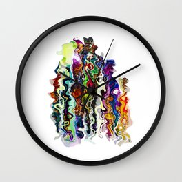 lost people found reborn Wall Clock