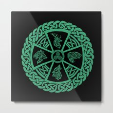 Celtic Nature Metal Print