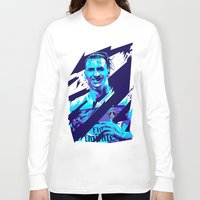 zlatan Long Sleeve T-shirts featuring Zlatan Ibrahimović : Football Illustrations by mergedvisible