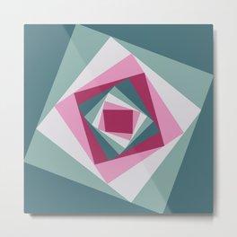 Abstract squares 2 Metal Print