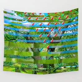 Landscape of My Heart (segment 2) Wall Tapestry