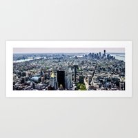 NYC - City Veins Art Print