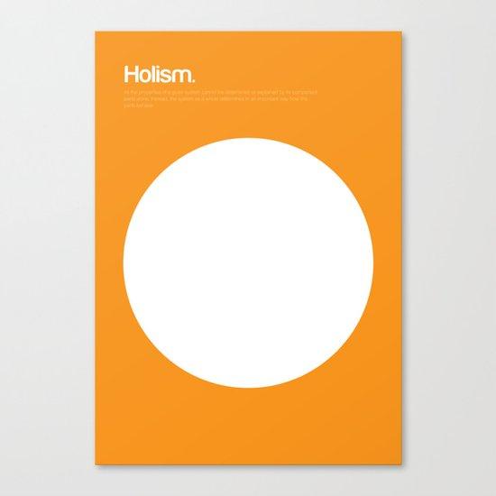 Holism Canvas Print