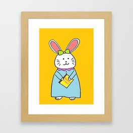 Bedtime Story Framed Art Print
