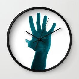 Screaming hand Wall Clock