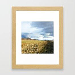 Nothing but sky Framed Art Print