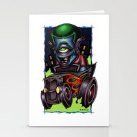 psych Stationery Cards featuring Psych-O-Clops by Pheck