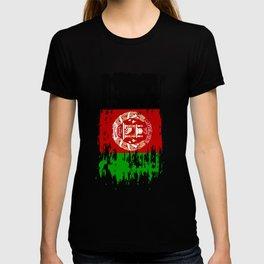 AF AFG Afghanistan Flag T-shirt
