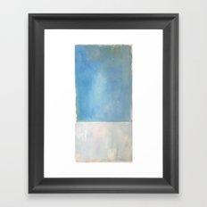 Mark Rothko Interpretation Untitled 1969 Framed Art Print