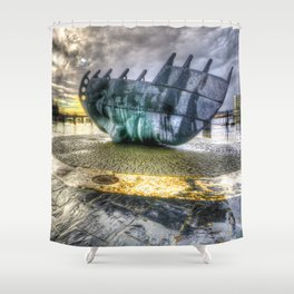 Merchant seafarer's war memorial 2 Shower Curtain