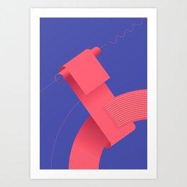 Geometric composition 4 Art Print