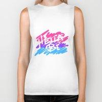 bisexual Biker Tanks featuring bisexual by thetalkinghair
