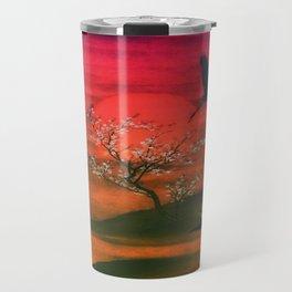 Oriental Sunset Travel Mug