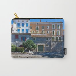 old houses on the canal du midi, france Carry-All Pouch