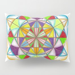 Knowledge - The Sacred Geometry Collection Pillow Sham