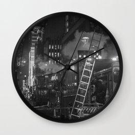 Maintenance the Street, A Wall Clock