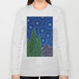 Starry Sky Long Sleeve T-shirt