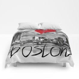I love Boston Comforters