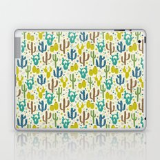 Prickly Cactus (Greens) Laptop & iPad Skin