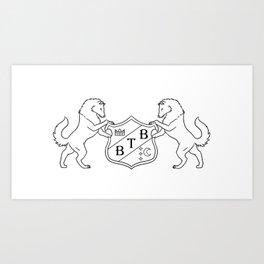 Barton Full Decorative Crest Art Print