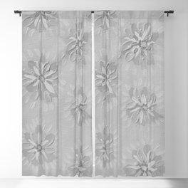 Stone Petal Rose Blackout Curtain
