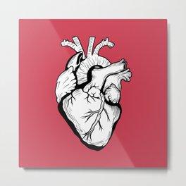 My Heart I Metal Print