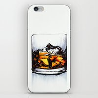 catcher in the rye iPhone & iPod Skins featuring Rye Rocks by Jordamn