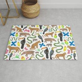 Jungle/Exotic Animals Rug