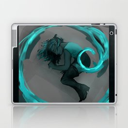 Girl in Spiral Laptop & iPad Skin