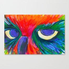 Sassy Owl Canvas Print