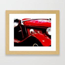 Ford V8 Framed Art Print